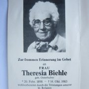 Biehle Theresia